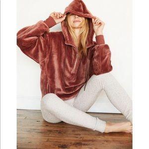 Express One Eleven Oversize Cozy Hoodie Sweatshirt